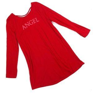 Victoria's Secret Angel Sleep Shirt Pajama X-Large